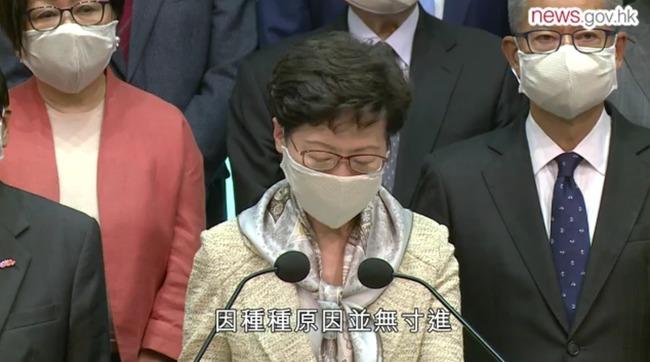 林鄭支持港版國安法「有迫切性」 辯稱「不危港司法獨立」   華視新聞