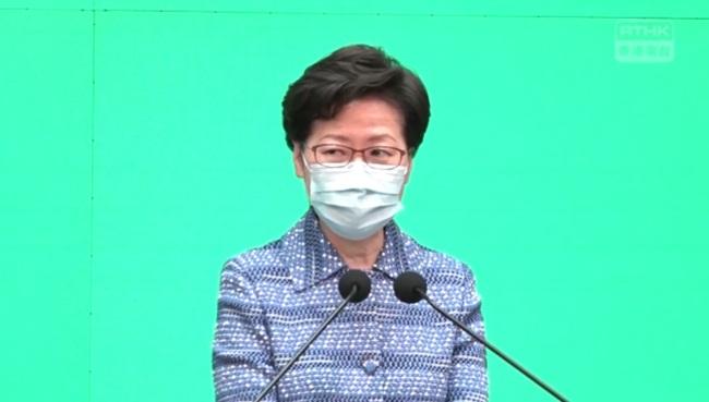 萬人抗爭「港版國安法」 林鄭無視:高興市民支持理解 | 華視新聞