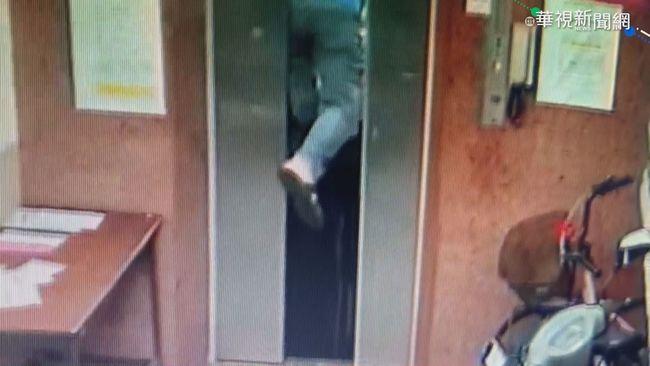 電梯老舊頻故障 住戶遭夾腳懸半空 | 華視新聞
