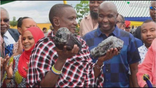 坦尚尼亞礦工挖到寶 現賣現賺一億 | 華視新聞