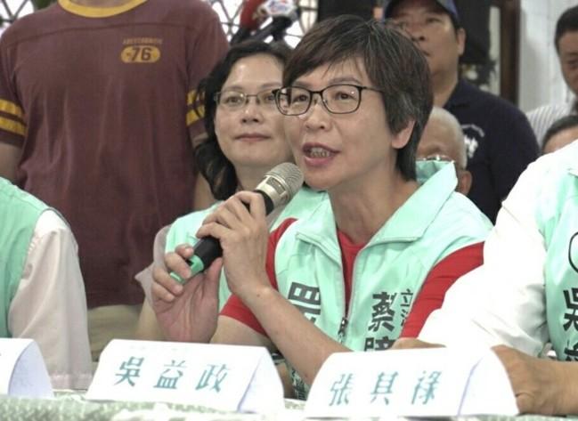 接任吳益政競選總幹事 蔡璧如:立委職責不因補選中斷   華視新聞