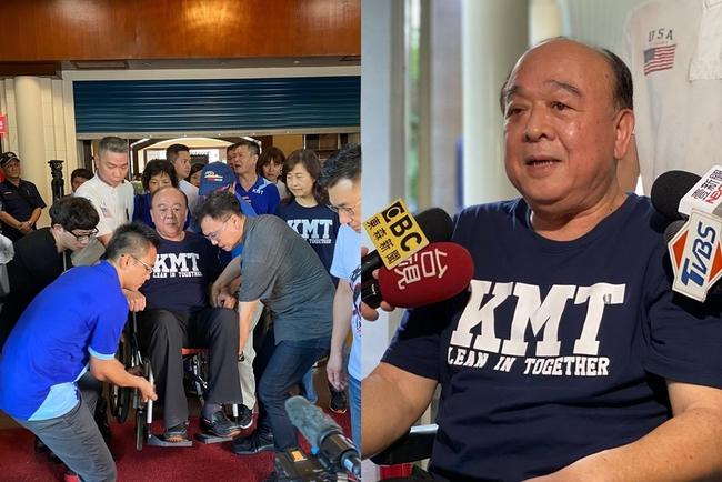 被抬進議場... 吳斯懷坐輪椅現身痛批民進黨「鴨霸」 | 華視新聞
