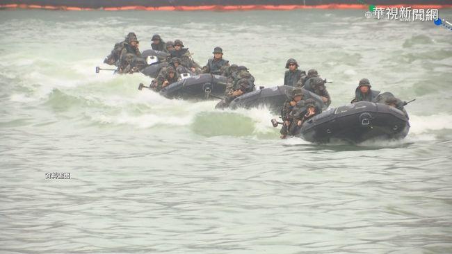 陸戰隊膠艇翻覆1死2命危 承辦少校辦公室輕生不治   華視新聞