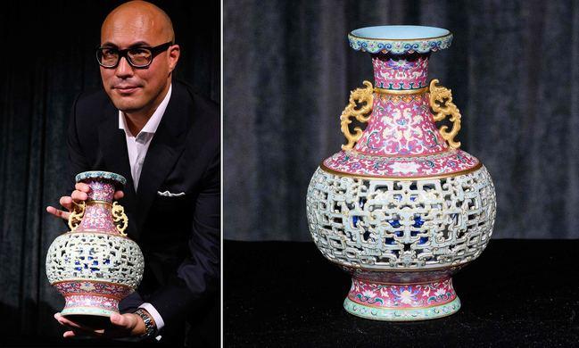幸運!1600元買古董花瓶 拍賣竟喊到「2.58億元」   華視新聞