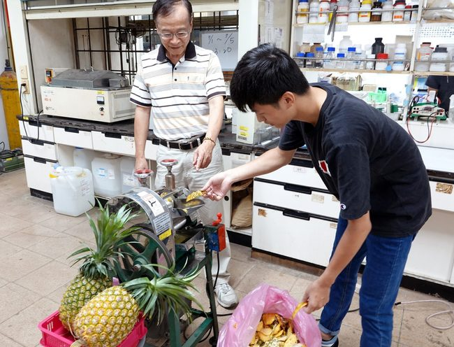 廢物變黃金!中正大學回收鳳梨皮渣升級木寡糖 | 華視新聞