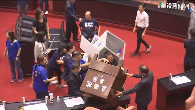 國民黨占議會搞破壞 遭立院求償代價曝光 | 華視新聞