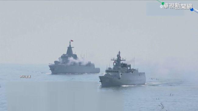 中多軍種實彈演習 恫嚇台灣意味濃 | 華視新聞