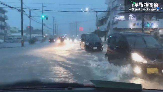 巴威撲向日韓 沖繩.九州風強雨驟 | 華視新聞