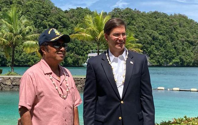 頻遭中國威脅利誘 帛琉總統盼美軍設立基地   華視新聞