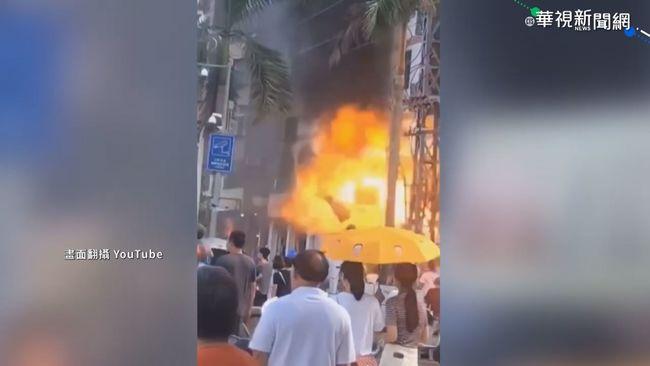 中國珠海飯店驚天爆竄黑煙 至少3傷   華視新聞