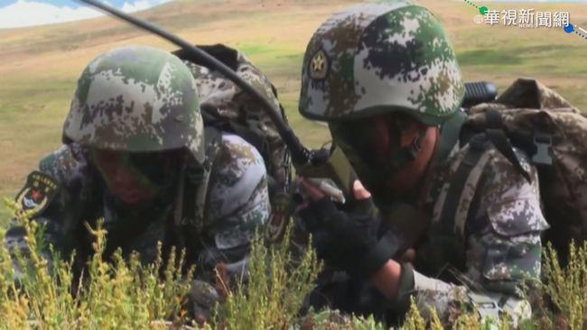 恫嚇印度! 西藏解放軍公布演習影片 | 華視新聞