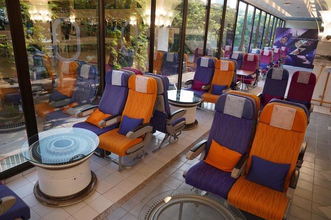 像極了旅行!泰航打造超逼真「機艙餐廳」提供現做飛機餐 | 華視新聞
