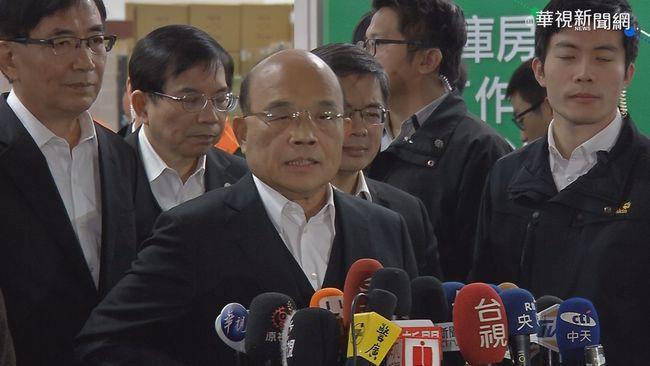總統聲望重挫11%!蘇貞昌堅持立場「開放美豬」   華視新聞