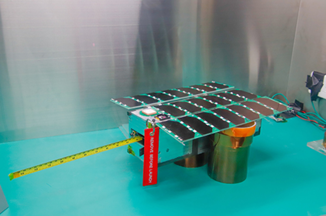台灣首顆全自主科學立方衛星 「飛鼠號」12月在美升空 | 華視新聞