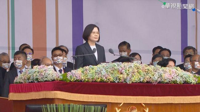 中國緊盯蔡英文國慶演說 《南華》:解放軍保持觀望   華視新聞