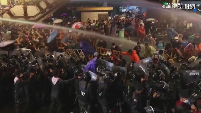 泰網紅換頭貼挺示威者 奶茶聯盟網友留言聲援 | 華視新聞