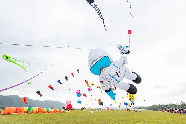 2020桃園國際風箏節登場 周邊1600車位供臨停   華視新聞