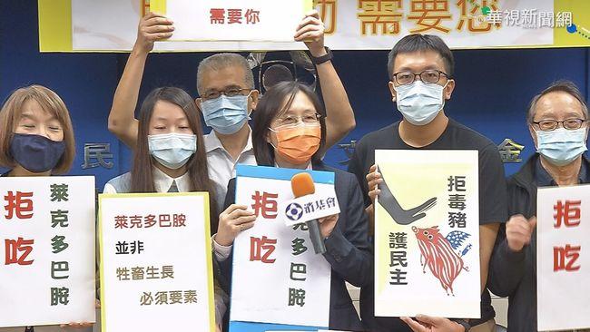 國民黨籲民眾上街反萊豬 陳吉仲:豬農收入不受影響   華視新聞