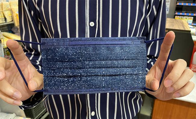 萊爾富推「丹寧牛仔藍」口罩 10/31預購限量2萬盒 | 華視新聞