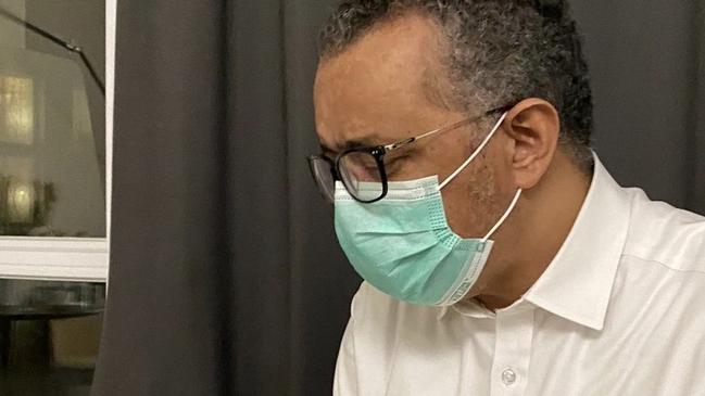 譚德塞「曾接觸確診者」宣布自主隔離 身體狀況曝   華視新聞