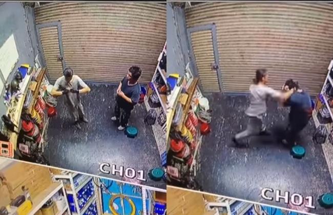 惡老闆「把員工當沙包打」 42秒畫面曝光網友怒肉搜 | 華視新聞
