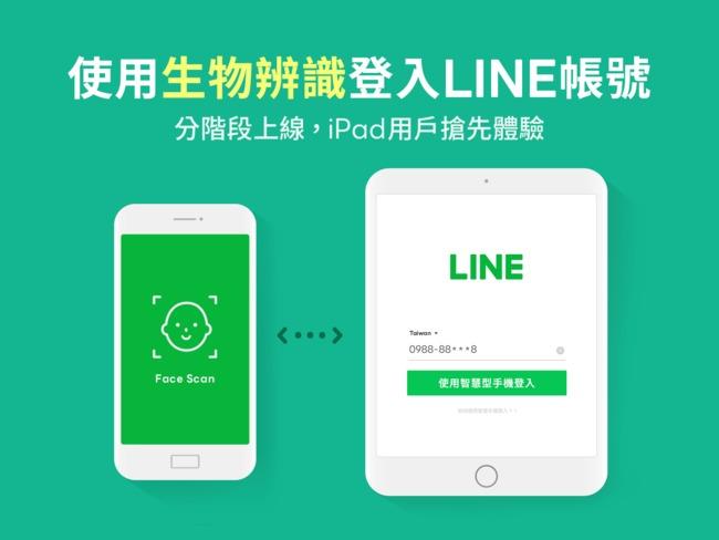 LINE導入生物辨識!首波iPad版搶先「免密碼登入」   華視新聞