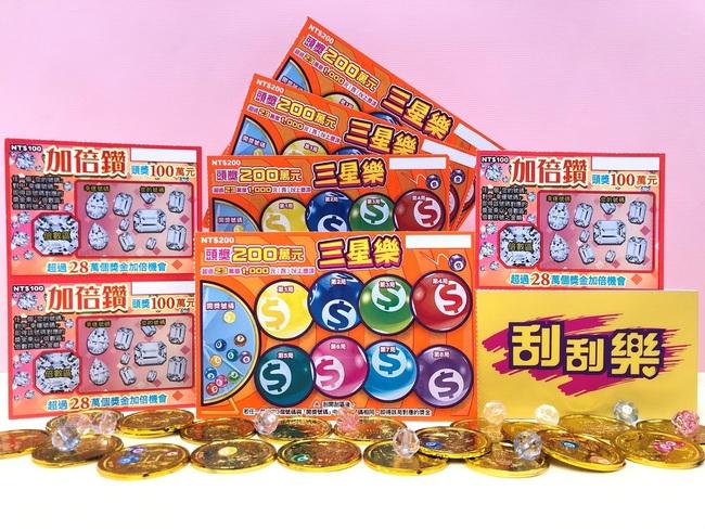 刮刮樂新玩法!「三星樂」+「加倍鑽」總獎金逾7億 | 華視新聞