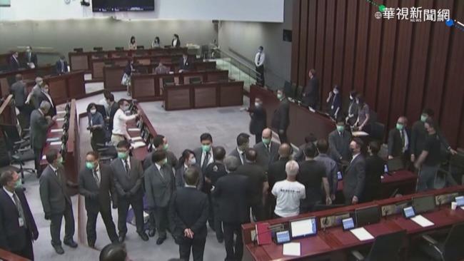 3港議員被抓 綠營批中共.港府:行為極端愚蠢 | 華視新聞