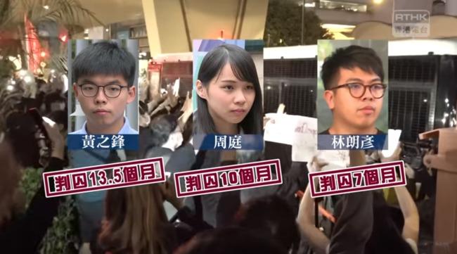 港眾志三子遭判入獄 王丹:中國在國際上轉守為攻   華視新聞