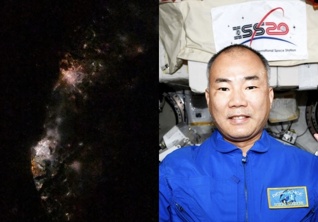 SpaceX日籍太空人發台灣夜空照! 台南高雄閃耀模樣被讚爆 | 華視新聞
