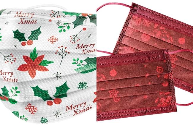 超可愛聖誕限定口罩登場!家樂福、愛買明起開賣   華視新聞