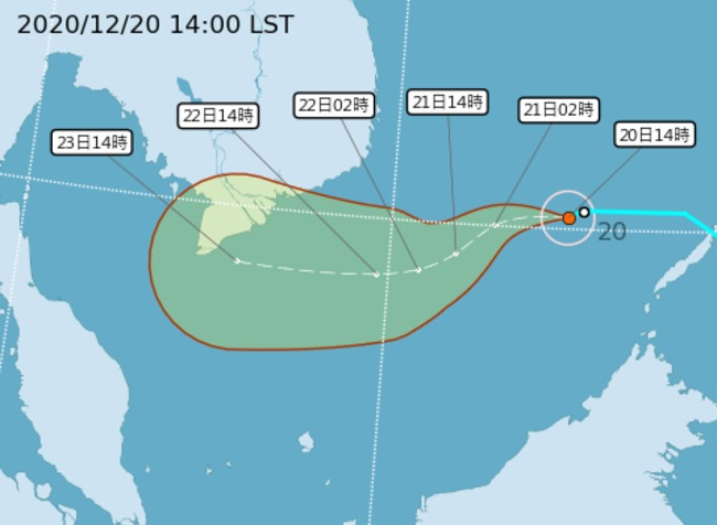 快訊》輕颱「科羅旺」生成!氣象局預測路線曝 | 華視新聞