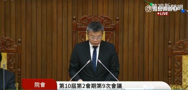 【更新】民進黨挾人數優勢 強勢通過萊豬9項行政命令   華視新聞