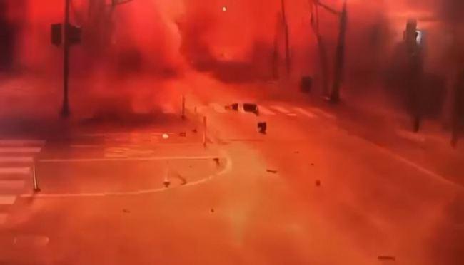 【影】驚悚畫面曝光!美田納西州耶誕節大爆炸    華視新聞