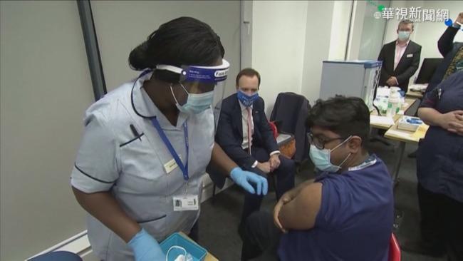 英6成確診為變種病毒 AZ疫苗將開打 | 華視新聞