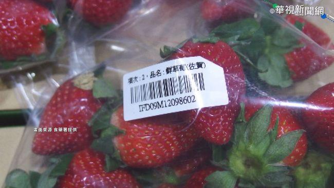 日本草莓驗出農藥.鎘超標 須退運銷毀   華視新聞