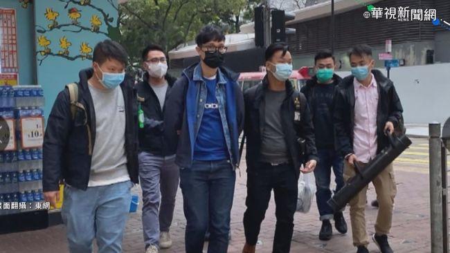 港府清晨突襲拘捕50餘人 陸委會:香港成東方煉獄 | 華視新聞