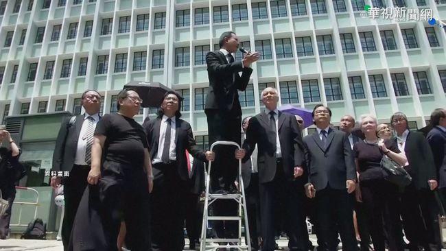港拘捕逾50民主派人士 國際高度關切   華視新聞