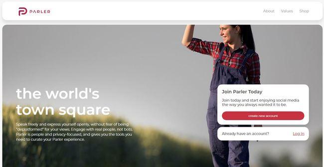 蘋果跟進!下架川粉最大社群平台Parler 亞馬遜終止服務 | 華視新聞