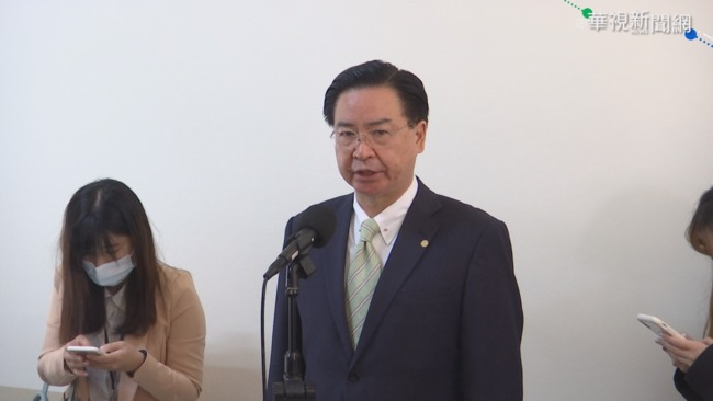 新版護照放大「Taiwan」 吳釗燮:通行沒問題 | 華視新聞