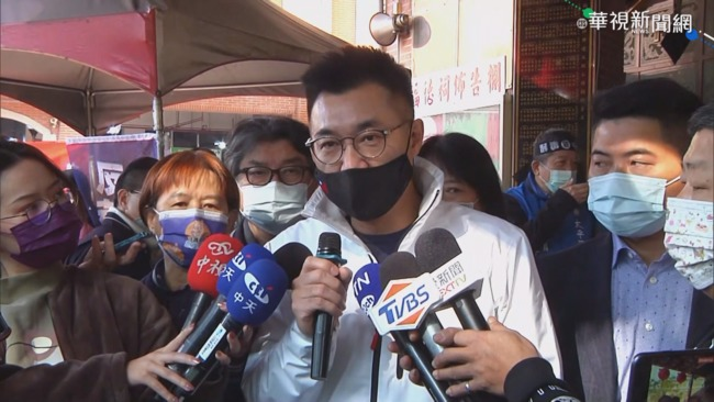 蔡英文滿意度新高 江啟臣:民怨高漲.不滿意度也要看   華視新聞