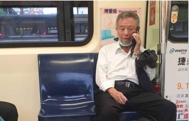 搭捷運拉下口罩挨轟 楊志良認了:照規定該罰就罰   華視新聞