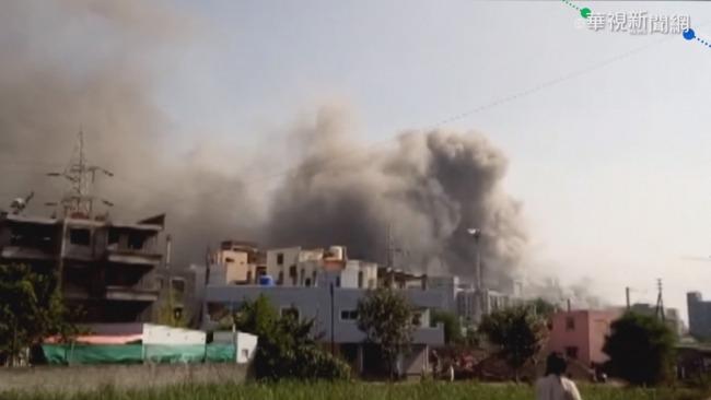 印度疫苗大廠火警 造成至少5人死亡   華視新聞