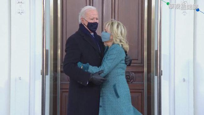 站白宮外無人開門 拜登夫婦吹風10秒 | 華視新聞