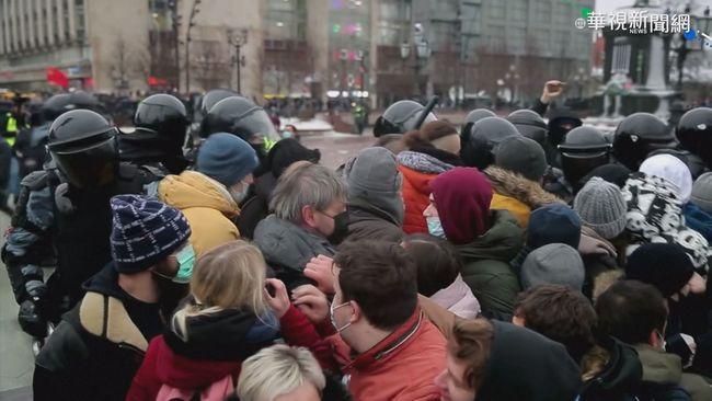 聲援俄國反對派領袖 超過3千人被捕   華視新聞