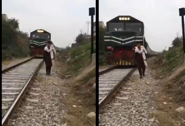 18歲男子「走鐵軌拍抖音」下秒遭火車撞飛身亡 | 華視新聞