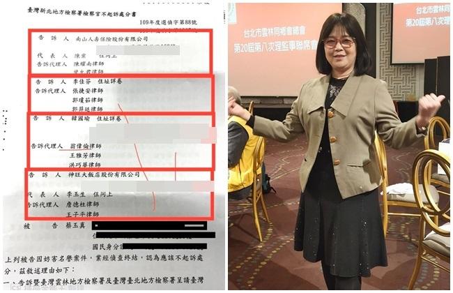 被韓國瑜、李佳芬等告4案 蔡玉真獲不起訴 | 華視新聞