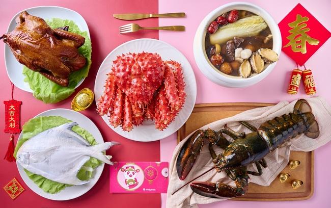 外送年菜「宅」家吃! 兩大外送平台優惠一次看 | 華視新聞