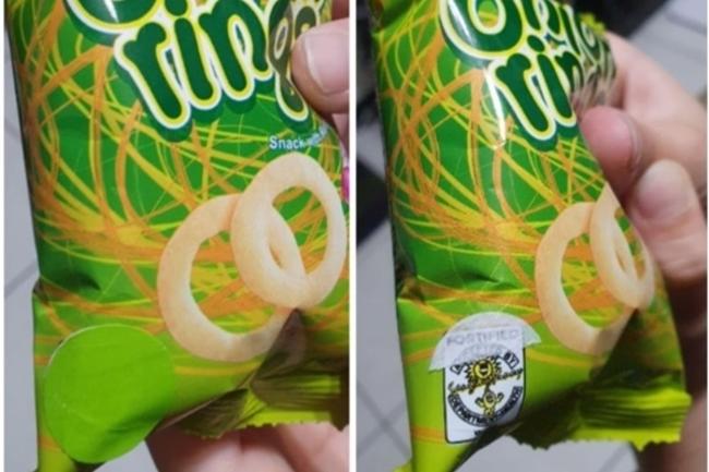 餅乾包裝被黏綠貼紙 真相曝光眾人驚:長知識了   華視新聞