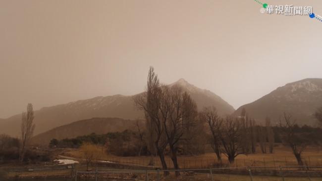 北非沙塵暴來襲 西歐多國天空染紅 | 華視新聞
